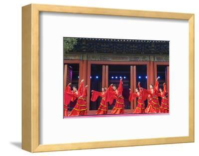 Cultural Performance in Period Costume, Beijing, China