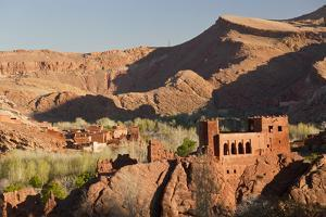 Dades Valley, Dades Gorges, Ouarzazate Region, Morocco by Peter Adams