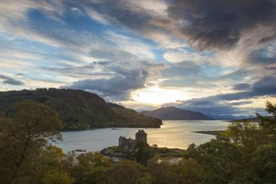 Eilean Donan Castle, Nr Dornie, Loch Alsh, Wester Ross, Western Highlands, Scotland, UK by Peter Adams