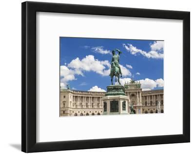 Franz Joseph Statue and Hofburg (Imperial) Palace, Vienna, Austria