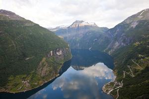 Geirangerfjord, Western Fjords, Norway by Peter Adams
