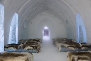Ice Hotel Church, Jukkasjarvi, Northern Sweden by Peter Adams