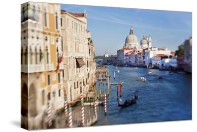 Italy, Venice, View of the Grand Canal from the Ponte Dell'Accademia