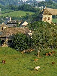Junac, Montsalvy, Auvergne, France by Peter Adams