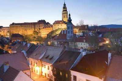 Krumlov Castle, Cesky Krumlov, South Bohemia, Czech Republic, UNESCO