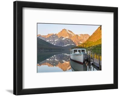 Lake Josephine, Many Glaciers Area, Glacier NP, Montana, USA