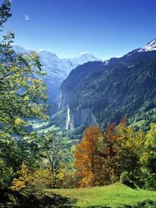 Lauterbrunnen Valley, Berner Oberland, Switzerland by Peter Adams