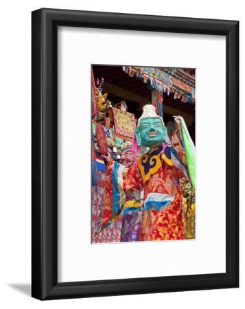 Masked Dancers at Wachuk Tibetan Buddhist Monastery, Sichuan, China