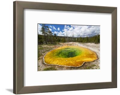 Morning Glory Pool, Yellowstone National Park, Wyoming, USA