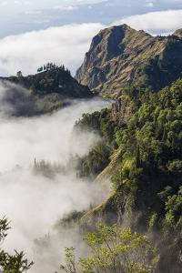 Mountains Above the Clouds, Santo Antao, Cape Verde by Peter Adams
