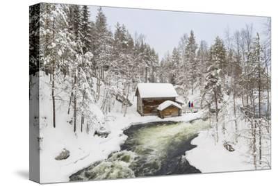 Myllykoski Rapids and Old Mill, Oulankajoki NP, Kuusamo, Finland