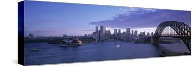 Opera House and Harbour Bridge, Sydney, Nsw, Australia