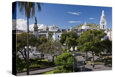Overlooking the Square of Independence, Quito, Ecuador