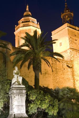 Parish Church, Sitges, Catalonia, Spain