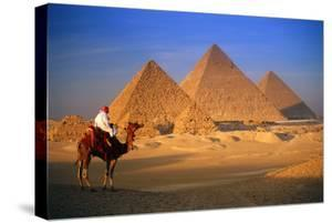 Pyramids in Egypt by Peter Adams