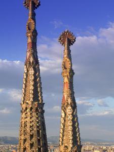 Sagrada Familia, Barcelona, Spain by Peter Adams