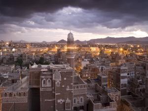 Sana'a, Yemen by Peter Adams