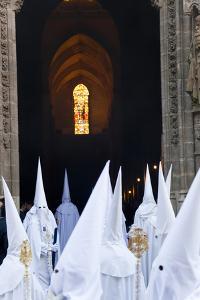Semana Santa Fiesta, Easter, Seville, Andalusia, Spain by Peter Adams