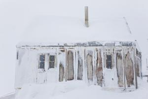 Snow Covered House, Tasiilaq, Greenland by Peter Adams