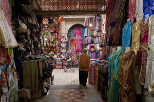Souk, Marrakech, Morocco by Peter Adams