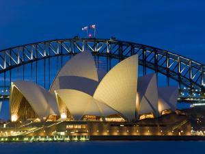 Sydney, Opera House at Dusk, Australia by Peter Adams