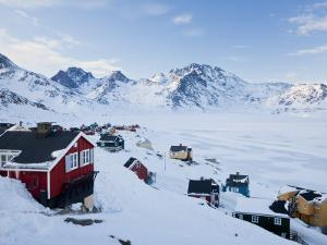 Tasiilaq, Greenland, Winter by Peter Adams