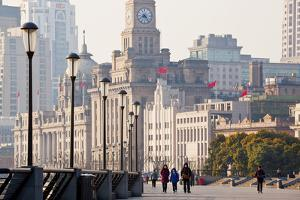 The Bund, Early Morning, Shanghai, China by Peter Adams