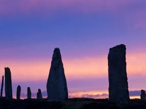 The Ring of Brodgar Standing Stones Orkney Islands Scotland by Peter Adams