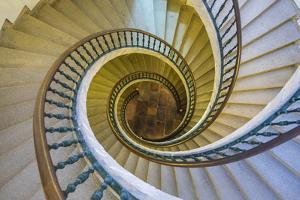 Triple Spiral Staircase of Floating Stairs, Convent of Santo Domingo De Bonaval by Peter Adams