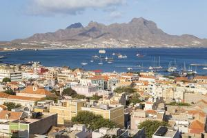 View over Mindelo, Sao Vicente, Cape Verde by Peter Adams