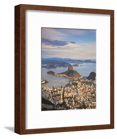 View over Sugarloaf Mountain and City Centre, Rio De Janeiro, Brazil