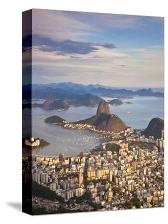 View over Sugarloaf Mountain and City Centre, Rio De Janeiro, Brazil