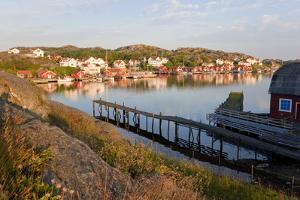 Village of Ronnang, Bohuslan, Sweden by Peter Adams