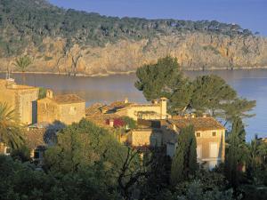 Villas by the Sea, Deya, Majorca, Balearics, Spain by Peter Adams
