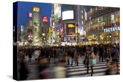 Worlds Busiest Road Crossing, Shibuya, Tokyo, Japan