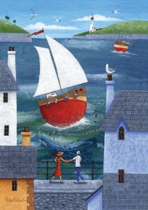 A Seaside Town by Peter Adderley