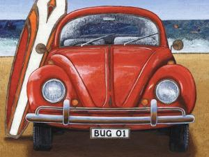 Beetle on the Beach by Peter Adderley