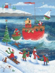 Coastal Christmas by Peter Adderley