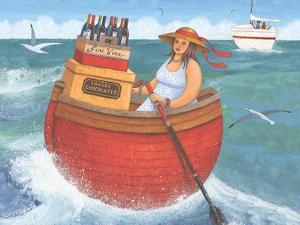 Rowing in Luxury by Peter Adderley