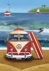 Volkswagon Surfboard by Peter Adderley