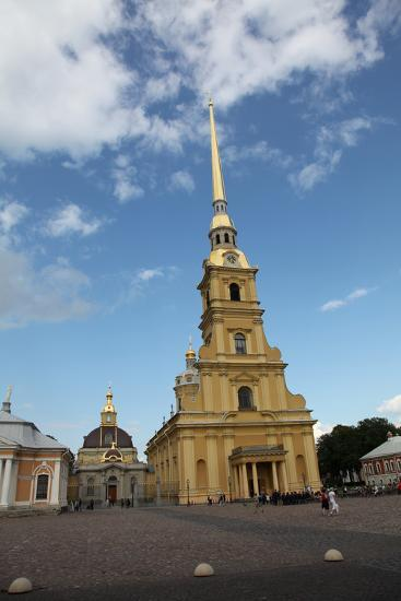 Peter and Paul Cathedral, St Petersburg, Russia, 2011-Sheldon Marshall-Photographic Print