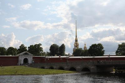 Peter and Paul Fortress, St Petersburg, Russia, 2011-Sheldon Marshall-Photographic Print