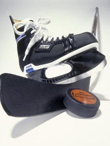 Black Ice Skates by Peter Ardito
