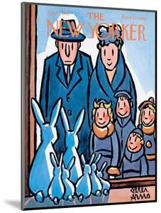 The New Yorker Cover - April 1, 1961 by Peter Arno
