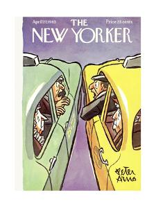 The New Yorker Cover - April 27, 1963 by Peter Arno