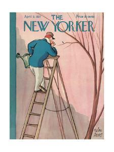 The New Yorker Cover - April 9, 1927 by Peter Arno