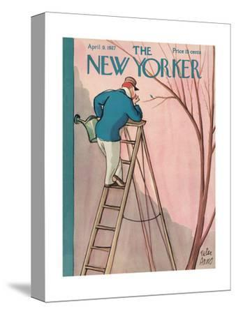 The New Yorker Cover - April 9, 1927