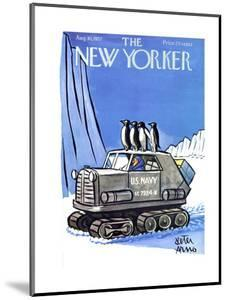 The New Yorker Cover - August 10, 1957 by Peter Arno