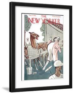 The New Yorker Cover - August 11, 1928 by Peter Arno