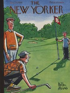 The New Yorker Cover - August 25, 1956 by Peter Arno